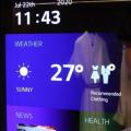 前沿数码资讯:LG展示其新型柔性OLED屏幕