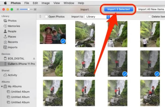 如何将照片从苹果手机iPhone传输到Mac电脑上