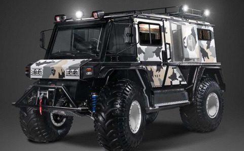 Technoimpulse  Rocket  Z是一款中置发动机的SUV,适合任何地方