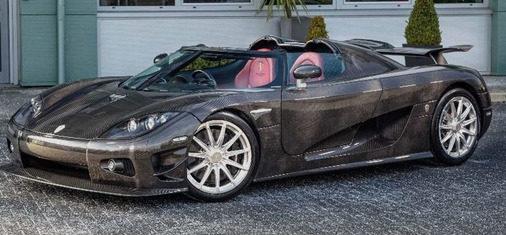 独特的绿色超级跑车在伦敦发现出售了230万美元