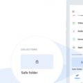 谷歌的文件添加了个人识别码加密的安全文件夹