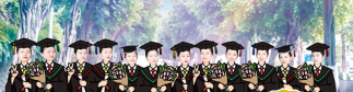 教育新闻:重庆海联职业技术学院学生为同学们制作云毕业照